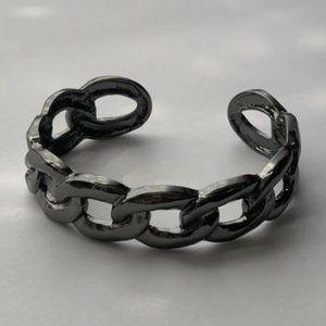 Living Off The Grit Black Bracelet